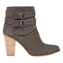 Buy Mint Velvet Steph Block Heeled Ankle Boots Online at johnlewis.com