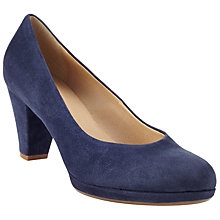 Buy John Lewis Jagger Court Shoes, Navy Online at johnlewis.com