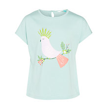 Buy John Lewis Girls' Cockatoo T-Shirt, Blue Online at johnlewis.com