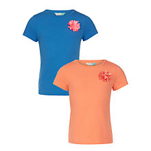 Buy John Lewis Corsage T-Shirts, Pack of 2 Online at johnlewis.com