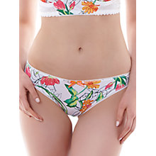 Buy Freya Utopia Bikini Briefs, White Online at johnlewis.com