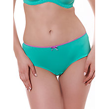 Buy Freya Deco Vibe Short Briefs, Opal Online at johnlewis.com