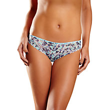Buy Chantelle Merci Tanga Briefs, Liberty Blue Online at johnlewis.com