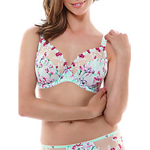 Buy Fantasie Alicia Underwired Plunge Bra, Mint Online at johnlewis.com