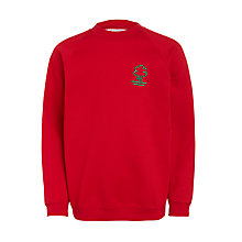 Buy Ashbrooke School Sweatshirt, Red Online at johnlewis.com