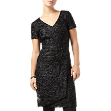 Buy Phase Eight Demi Tapework Sequin Dress, Black Online at johnlewis.com