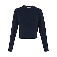 Buy Whistles Split Hem Crop Jumper Online at johnlewis.com