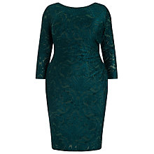 Buy Studio 8 Bernice Bodycon Dress, Forest Green Online at johnlewis.com