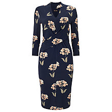 Buy Phase Eight Monica Floral Print Jersey Dress, Navy/Multi Online at johnlewis.com