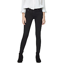 Buy Mango Skinny Elektra Jeans, Open Grey Online at johnlewis.com