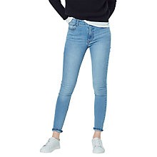 Buy Mango Noa Skinny Fit Jeans, Medium Blue Online at johnlewis.com