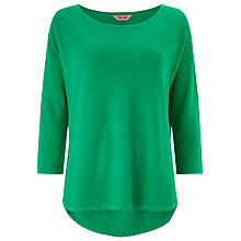 Buy Phase Eight Megg Curve Jumper, Apple Green Online at johnlewis.com