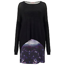 Buy Phase Eight Colleen Cloud Tunic Dress, Black Online at johnlewis.com
