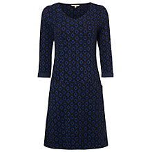 Buy White Stuff Daisy Jacquard Jersey Dress, Ultraviolet Online at johnlewis.com