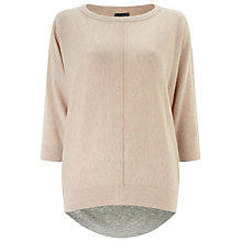 Buy Phase Eight Claudina Jumper, Pink/Grey Online at johnlewis.com