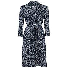 Buy French Connection Argan Rose Tie Dress, Navy Online at johnlewis.com
