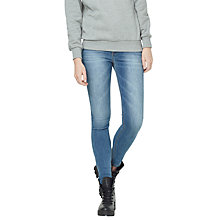 Buy Mango Soho Skinny Jeans, Medium Blue Online at johnlewis.com
