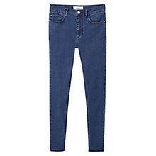 Buy Mango Noa Skinny Fit Jeans, Dark Blue Online at johnlewis.com