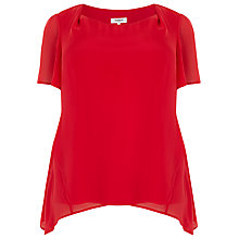 Buy Studio 8 Charlie Tunic Top, Red Online at johnlewis.com