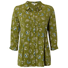 Buy White Stuff Days Out Jersey Shirt, Tarragon Online at johnlewis.com