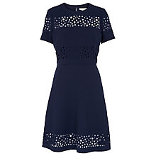 Buy Whistles Sammy Dress, Navy Online at johnlewis.com
