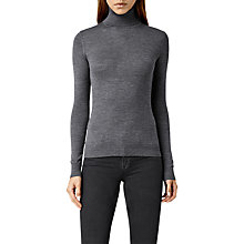 Buy AllSaints Albar Roll Neck Jumper Online at johnlewis.com