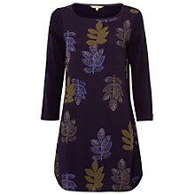Buy White Stuff Patch Forest Tunic Top, Marine Purple Online at johnlewis.com