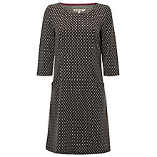 Buy White Stuff Scenic Jersey Dress, Dark Moon Grey Online at johnlewis.com