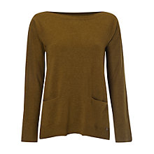 Buy White Stuff Stoney Jumper, Tumeric Green Online at johnlewis.com