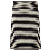 Buy White Stuff Valley Lane Reversible Jersey Skirt, Grey Online at johnlewis.com