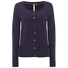 Buy White Stuff Willow Tree Cardigan, Marine Purple Online at johnlewis.com