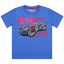 Buy Batman Dark Knight Batmobile T-Shirt, Blue Online at johnlewis.com