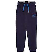 Buy Hackett London Boys' Joggers, Navy Online at johnlewis.com