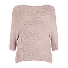 Buy Studio 8 Tilly Batwing Chunky Knit Jumper, Stone Online at johnlewis.com