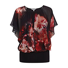 Buy Coast Anata Printed Calla Top, Multi Online at johnlewis.com