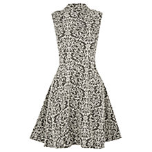 Buy Oasis Baroque Skater Dress, Black/Multi Online at johnlewis.com