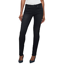 "Buy Jigsaw Richmond Skinny Jeans 32"", Black Online at johnlewis.com"