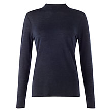 Buy Jigsaw Wool Tencel Turtle Neck Top Online at johnlewis.com