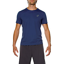 Buy Asics Race Short Sleeve Running Top Online at johnlewis.com