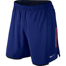 "Buy Nike Phenom 2-in-1 7"" Running Shorts, Deep Royal Blue Online at johnlewis.com"