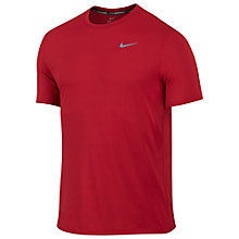 Buy Nike Men's Running T-Shirt, University Red Online at johnlewis.com