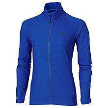 Buy Asics Lite-Show Full Zip Running Jacket, Blue Online at johnlewis.com