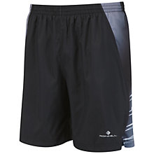 "Buy Ronhill Advance 7"" Running Shorts, Black Online at johnlewis.com"