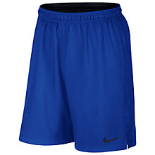 Buy Nike Strike Football Shorts, Game Royal Blue Online at johnlewis.com