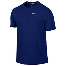 Buy Nike Dri-FIT Contour Short Sleeve Running Top Online at johnlewis.com