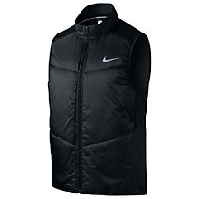 Buy Nike Polyfill Running Vest, Black Online at johnlewis.com