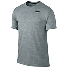 Buy Nike Dri-FIT Training Top, Cool Grey/Black Online at johnlewis.com
