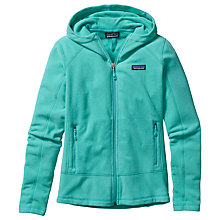 Buy Patagonia Emmilen Slim Fit Zip-Up Hoodie, Turquoise Online at johnlewis.com