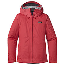 Buy Patagonia Torrentshell Waterproof Women's Jacket, Pink Online at johnlewis.com