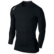 Buy Nike Pro Warm Compression Long Sleeve Crew Top Online at johnlewis.com